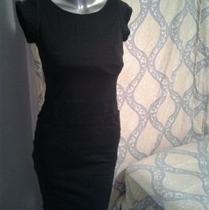 Kerrigan small black zipper dress